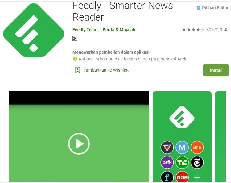 aplikasi feedly