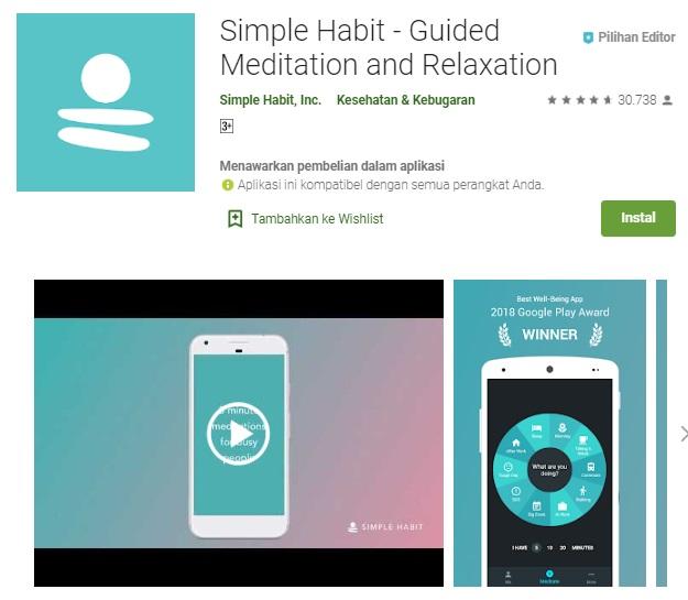 aplikasi simple habit
