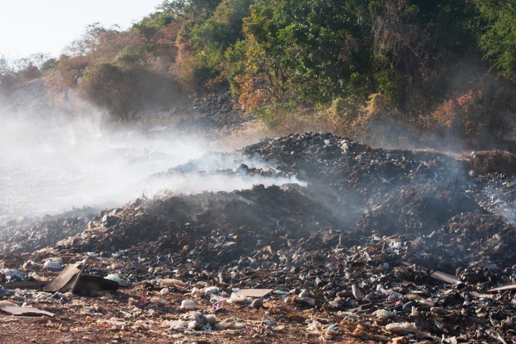pencemaran udara akibat sampah