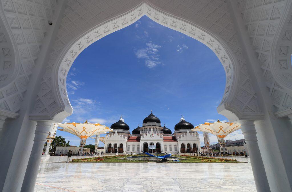 masjid raya baiturrahman indonesia